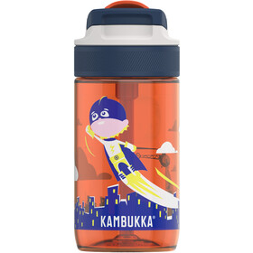 Kambukka Lagoon Bottle 400ml Kids, flying superboy
